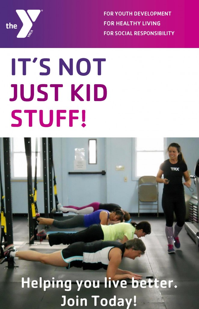 Y membership- not just kids stuff